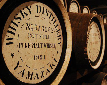 Barrels, Storage, Whiskey, Whisky