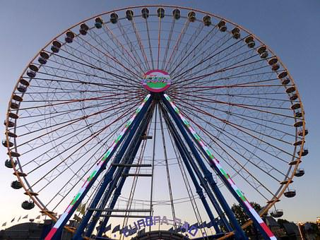 Ferris Wheel, Stuttgart, Bad Cannstatt, Wasen