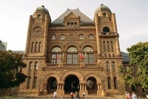 Canada, Toronto, University, St-george, Architecture