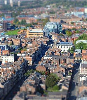 Liverpool, City, Skyline, England, Travel, Tourism