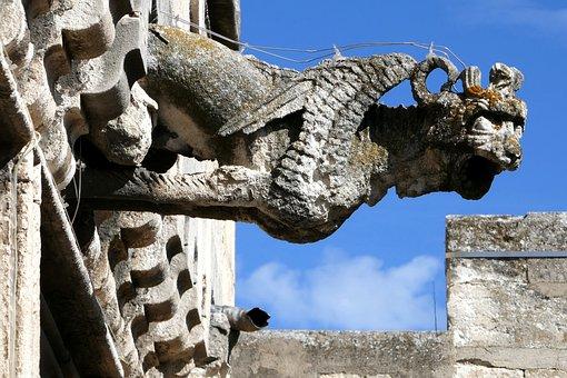 Gargoyle, Musée Réattu, Arles, France, Grand Priory