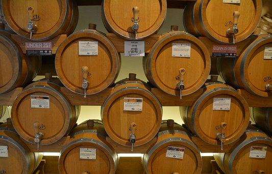 Barrels, Whisky, Wine, Wood, Wooden, Drink, Old