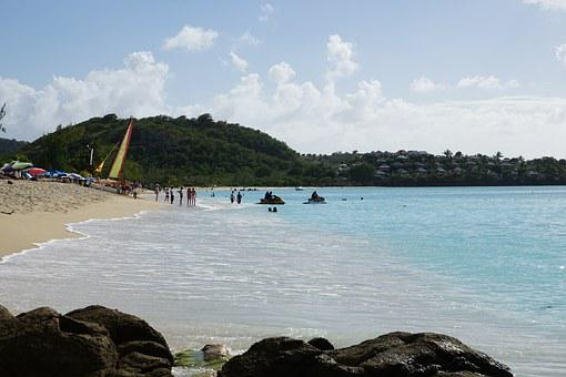 Antigua, Caribbean, Road, Musician