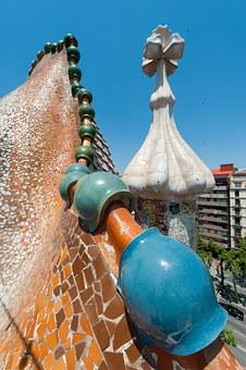 Barcelona, Home Batlló, Architecture, Gaudi