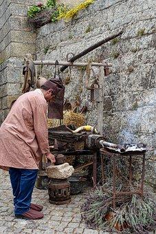 Metal Worker, Historical, Vintage, Forge, Craft