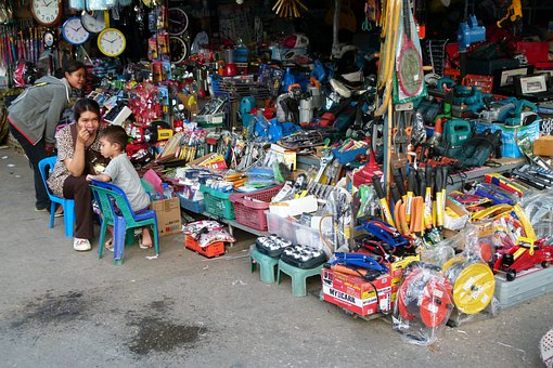 Market, Thailand, Asia, Arm, Road, All Kinds Of Things