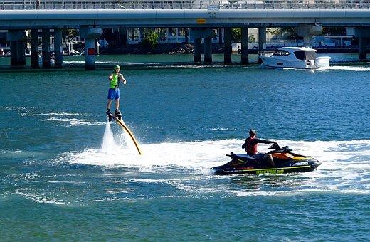 Jetpack, Water, Propulsion, Watersport, Waterjet, Power