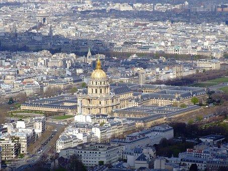 Paris, France, Hotel Des Invalides, Museum, Buildings