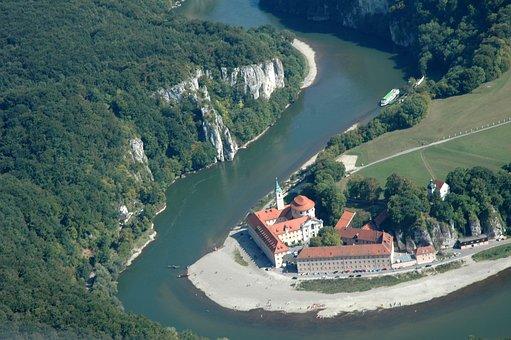 Weltenburg Abbey, Danube, Monastery Brewery, River