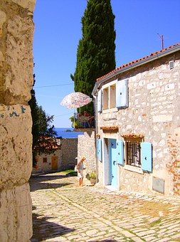 Mediterranean, South, Holiday, Summer, Building, Home