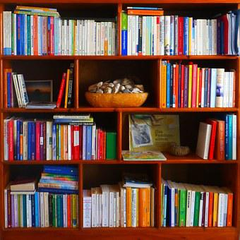 Bookshelf, Books, Profession, Read, Education
