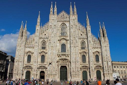 Milan, Cathedral, Religion, Architecture, Europe, Italy