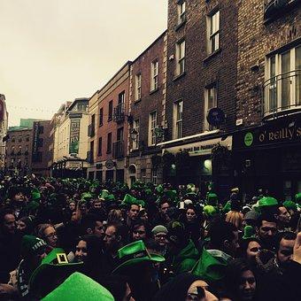 Leisure, Tourism, Green, People, Dublin, Temple Bar