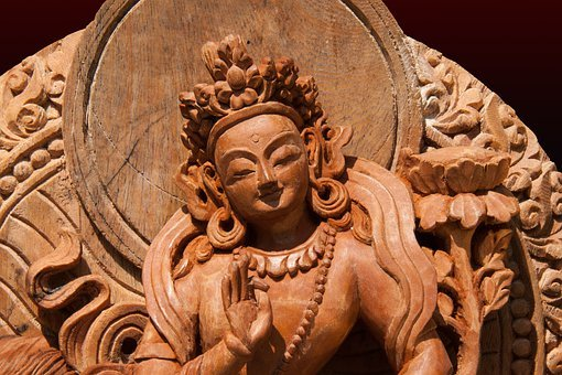 Tara, Female, Peaceful, Manifestation, Enlightened