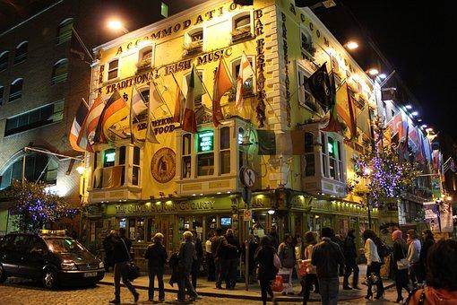 Dublin, Temple Bar, Tourism, Leisure
