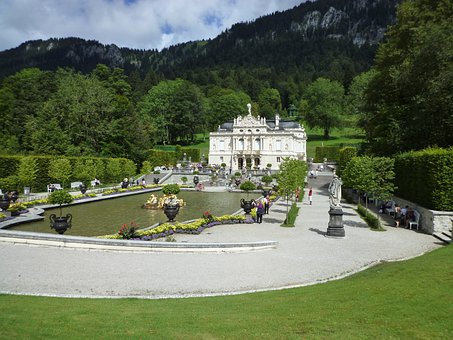 Castle, Linderhof Palace, King Ludwig The Second