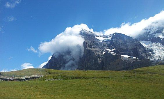 Eiger, Eiger North Face, North Wall, Kleine Scheidegg