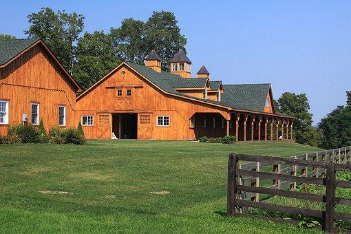 Stable, Horse Stable, Barn, Horse Barn, Ranch
