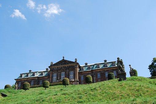 Burgscheidungen Castle, Barockschloss, Schlossgarten