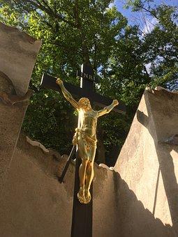 Inri, Christ, Wayside, Cross, Religion, Crucified