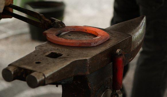 Anvil, Horseshoe, Blacksmith, Farrier