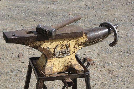 Anvil, Farrier, Shoe, Blacksmith, Work, Tool, Equipment