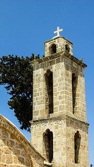 Cyprus, Frenaros, Archangelos Michael, Church, Belfry