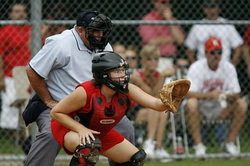 Softball, Catcher, Player, Umpire, Competition, Game