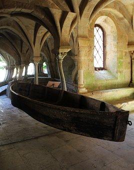 Boat, Optical Effect, Flying Boat, Church, Curiosity