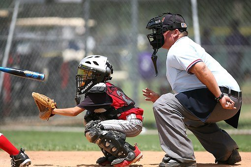 Baseball, Player, Catcher, Umpire, Game, Competition