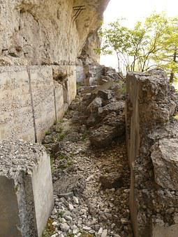 Fortress, Fortification, Klettersteigweg, Italy, Garda