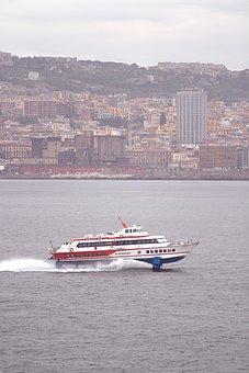Vacation, Italy, Naples, Water, Sea, Seaside, Holidays