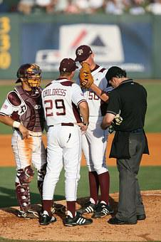 Baseball, Game, Players, Coach, Pitcher's Mound, Sport