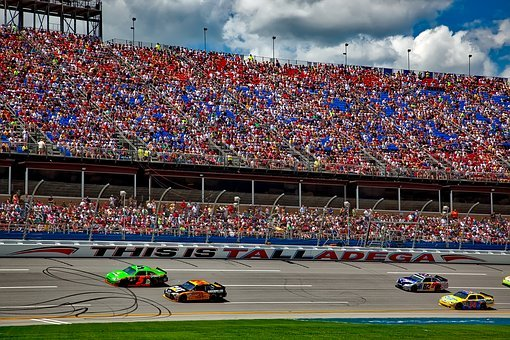 Talladega, Alabama, Speedway, Track, Racing, Race