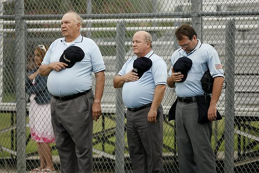 Umpires, Softball, Men, Sports Officials, Game