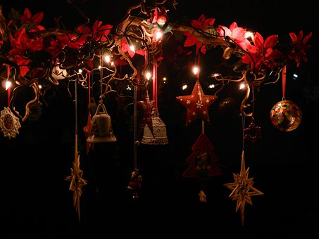 Christmas, Advent, X Mas, Deco, Star, Bells