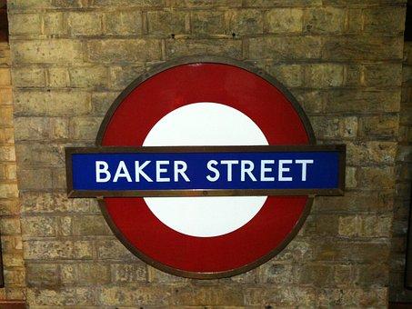 Baker, Street, London, Underground, Tube, Railway