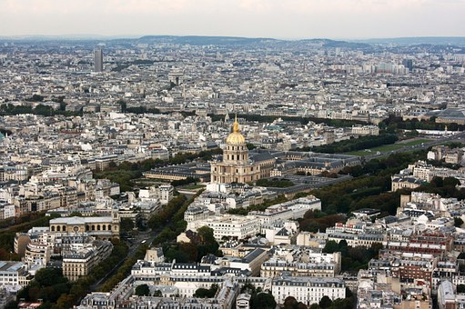 Invalides, Tomb Of Napoleon, Paris, Dome