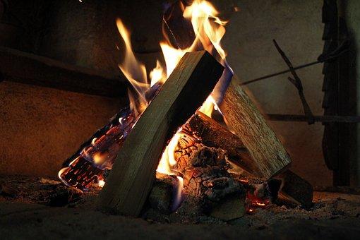 Wood Fire, Fire, Embers, Heat, Burn, Flame, Radio