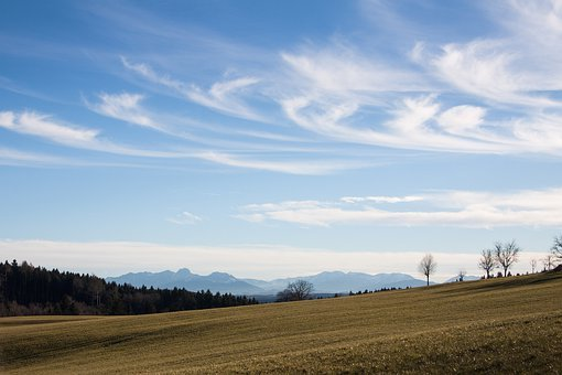 Hair Dryer, Landscape, Mountains, Alpine, Upper Bavaria