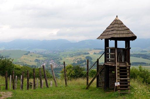 Havranok, Wooden Tower, Lookout Tower, Liptov