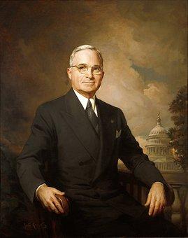 Harry S Truman, President, Usa, White House, 33