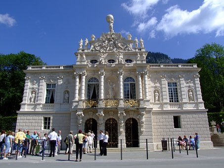 Castle, Linderhof Palace, Architecture, Fairy Castle