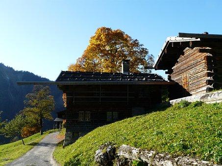 Gerstruben, Wooden Houses, Farmhouses, Museum Village