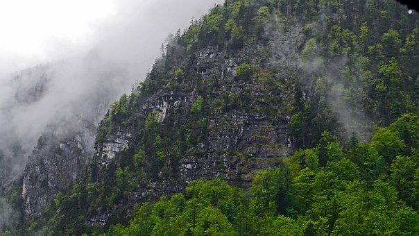 Hallstatt, Mountainside, After The Rain, Cloud