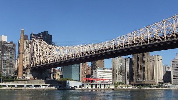 New York, East River, New York City, Bridge