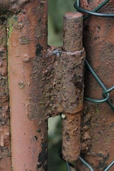 Hinge, Metal, Stainless, Old, Iron, Rusty, Welded
