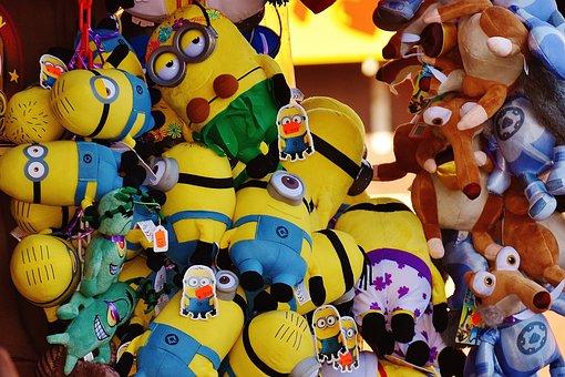 Oktoberfest, Stand, Minions, Plush Toys, Sales Stand