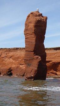 Water, Rock, Stone, Nature, Summer, Balance, Landscape