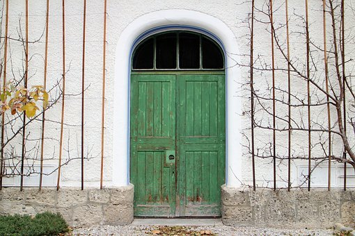 Input, Hinged Door, Double Door, Round Arch, Door, Wood